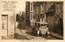 LOIRET  ORLEANS  La Leçon De Conduite A Travers Les Rues D'Orleans - Orleans
