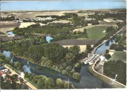 MARCILLY SUR SEINE - Vue Aérienne - Canal De La Haute Seine - France