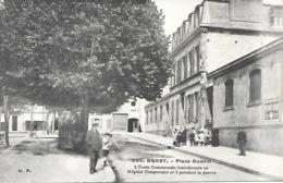 29-Brest- Place Guérin-l'Ecole Communale Transformée En Hôpital Temp. N°2 Pendant La Guerre - Brest