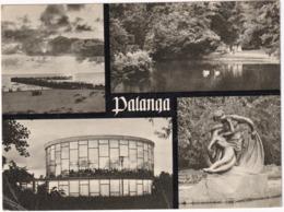 Palanga: The Baltic Sea. In The Town Park. 'Vasara' Restaurant. 'Juraté And Kastytis' By N. Gaigalaité  - (1957) - Litouwen