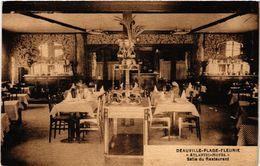 "CPA DEAUVILLE - Plage-Fleurie - ""Atlantic Hotel"" - Salle Du Restaurant (515664) - Deauville"