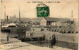 CPA CAEN - Le Bassin Et Les Quais (515849) - Caen