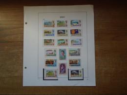 Timbres De Jersey Sur Pages D'album De 1969 à 1979 ( 11 Années Complètes ) - Briefmarken
