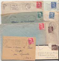 FRANCE - Lot De 8 Lettres Diverses (mariannes) - Francia