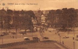 Charleroi   Entrée De La Ville .  Plave Emile Buisset  Auto Oldtimer Voitures      L 1081 - Charleroi