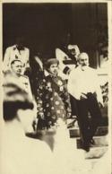 Emperor Bao Dai, Bảo Đại Of Vietnam, French President Paul Doumer (1930s) RPPC - Viêt-Nam