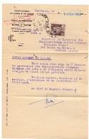 Brief Lettre - SN Des Chemins De Fer Français - Bordeaux 1946 - Transports