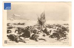 CPA Paupion Damidot Prise Drapeau Allemand Du 8e Régiment Poméranien Victor Curtat 23 Janvier 1871 Combat De Dijon 1CP28 - Autres