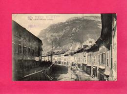 """73 Savoie, Montmélian, Rue Principale, (cachet """"97° Regt D'Infanterie""""), Animée, Commerces, 1915 - Montmelian"""