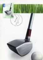 """Entier Postal De 2011 D'AUSTRALIE Sur CP Avec Timbre Et Illust. """"Club Et Balle De Golf"""" - Golf"""