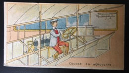 Droulers Chicorée Magicienne Fresnes Nord Chromo Sport Couse Aéroplane Aviation Avion Illustrateur - Chromos