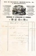 1842 - CHÂTELLERAULT - Imprimerie Et Lithographie Du Commerce - COLLET-DROUIN - Documents Historiques