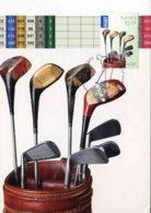 """Entier Postal De 2011 D'AUSTRALIE Sur CP Avec Timbre Et Illust. """"Sac De Golf Avec Clubs (Fers Et Bois)"""" - Golf"""