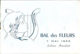 NANTES Bal Des Fleurs Salons Mauduit 1955 - Programmes