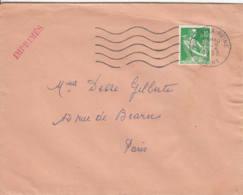 FRANCE - 1963 - Lettre De Bourg-la-Reine Pour Paris - Imprimés - Covers & Documents