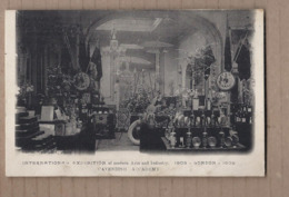 CPA ANGLETERRE LONDON INTERNATIONAL EXHIBITION Of Modern Arts And Industrie 1909 CAVENDISH ACCADEMY TB Verso - Autres
