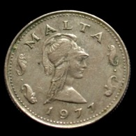 Malta 2 Cents (Penthesilea, Queen Of The Amazons) Coin. Random Age Km9 - Malta