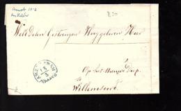 Amsterdam Den Helder > Op Het Nieuwe Diep Willemsoord (name Cut Out) (FF-90) - ...-1852 Vorläufer