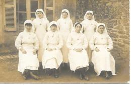29-Douarnenez-carte-photo Les Infirmières De L'Hôpital N°43 En 14/18 - Douarnenez