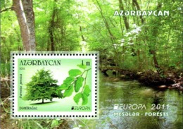 CEPT / Europa 2011 Azerbaidjan N° BF 88 ** Les Fôrets - 2011