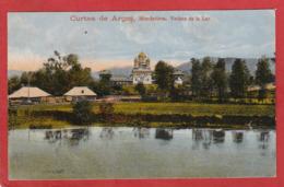 CPA: Roumanie - Curtea De Arges - Monastirea Vedere De La Lac - Roumanie