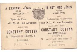 Visitekaartje - Carte Visite - Magazijn In Het Kind Jezus - Constant Cottyn - Brugge - Cartoncini Da Visita