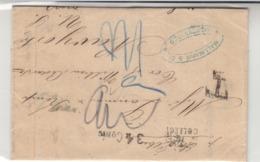 Uruguay / U.S. / Tax / G.B. / Transatlantic Mail - Uruguay