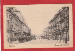 CPA: Roumanie - Bukarest - Boulevard Elisabeth - Roumanie