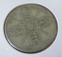 Royaume-Uni / United Kingdom - Monnaie 1 Florin 1921 En Argent - J. 1 Florin / 2 Schillings