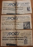 La Voix Des Sports 1949, 3 Numéros N°170, N° 162, N°156 - Journaux - Quotidiens