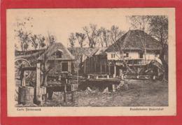 CPA: Roumanie - Curte Taraneasca - Rumanischer Bauernhof - Roumanie