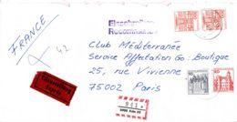 ALLEMAGNE - 1983? - Lettre Recommandée Par Exprès Pour La France - Lettres & Documents