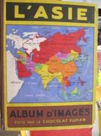 ALBUM D'IMAGES - CHOCOLAT PUPIER - L'ASIE - 207 Vignettes Sur 252 - Geographie