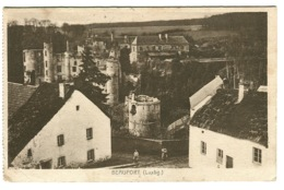 Beaufort Luxembourg Sent To Denmark 1920 - Altri