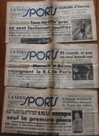 La Voix Des Sports 1948, 3 Numéros N° 137, N°144, N° 146 - Journaux - Quotidiens