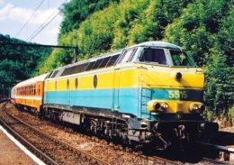 Rivage (Belgique) Locomotive Diesel N°5515 - Sprimont