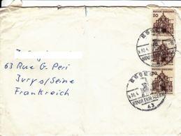 ALLEMAGNE -  Lettre D'Essen Pour La France - Briefe U. Dokumente