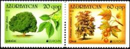 CEPT / Europa 2011 Azerbaidjan N° 721 A Et 722 A ** Les Fôrets - 2011