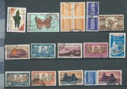 Lot De  19 Timbres De  Nouvelles Calédonie Oblitérés , Toutes époques Confondues , Bon état Général  - Bce 22304 - Nueva Caledonia