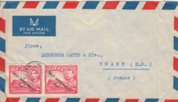 MALTE - 1951 - Lettre Par Avion De Malte Pour La France - Malta