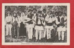 CPA: Roumanie - Tarani Lautari - Volktsrachten Und Zigeunermusik - Roumanie
