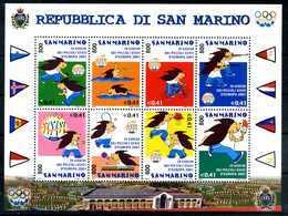 2001 SAN MARINO BF63 MNH ** - Blocchi & Foglietti