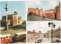 Warszawa: SKODA AUTOBUS, WARTBURG 312, FSO SYRENA - (Poland) - Toerisme