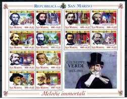 2001 SAN MARINO BF62 MNH ** - Blocchi & Foglietti