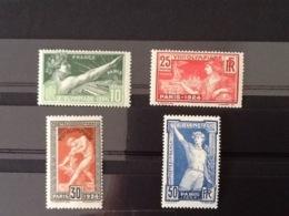 Yv. 183/186* Olympiade 1924. - Neufs