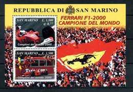 2001 SAN MARINO BF61 MNH ** - Blocchi & Foglietti