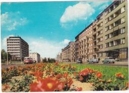 Gdynia: SKODA AUTOBUS, FSO SYRENA, FSO M20 / GAZ-M20 POBEDA - Ulica Wladyslawa IV - (Poland) - Toerisme