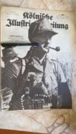 1943 WWII WW2 Kölnische Illustrierte Zeitung NAZI GERMANY ARMY MAGAZINE MILITARY DEUTSCH ZEITSCHRIFT BURMA THAILAND USA - Politie En Leger