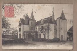 CPA 28 - SENONCHES - Façade Du Château De Tardais - TB PLAN EDIFICE + Jolie Oblitération Verso - France