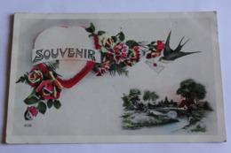 Souvenir  Fleurs Paysage Coeur - Souvenir De...